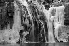 Ice cascade Royalty Free Stock Photos