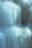 Ice Cascade Background. Ice cascade frozen on a hillside Stock Photography