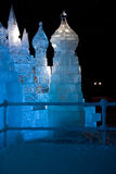 Ice castle Stock Image