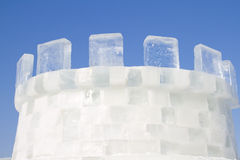 Ice castle Stock Photos