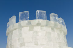 Ice castle Royalty Free Stock Image