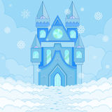 Ice Castle Royalty Free Stock Images