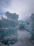 Ice Castles Stock Photography