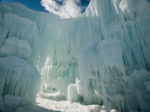 Ice Castles. Of Silverthorne, Colorado royalty free stock photos