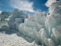 Ice Castles. Of Silverthorne, Colorado stock images