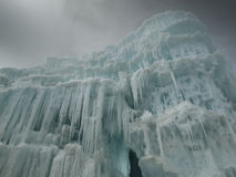 Ice Castles Royalty Free Stock Photo