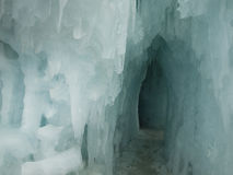 Ice Castles. Of Silverthorne, Colorado royalty free stock photography