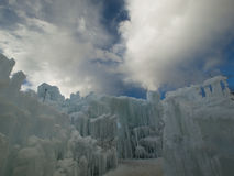 Ice Castles Royalty Free Stock Photography