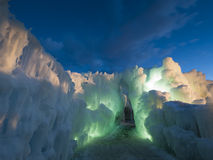 Ice Castles. Of Silverthorne, Colorado royalty free stock images