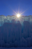Ice castles. Stock Photography
