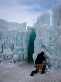 Ice Castles. Of Silverthorne, Colorado Stock Image