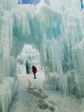 Ice Castles Stock Photo