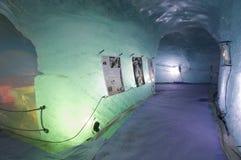 Ice cave Stock Image
