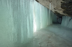 Ice Cave Royalty Free Stock Images