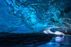 Ice cave stock images