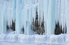 Ice Cave Exterior Stock Image