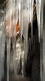 Ice Cave Royalty Free Stock Photos