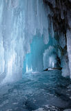 Ice cave stock photography