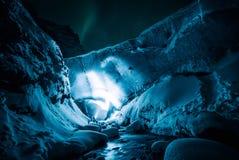 Ice, Cave, Rocks, Snow, Winter Royalty Free Stock Image