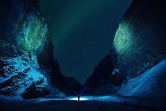 Ice, Cave, Rocks, Snow, Winter Stock Photography