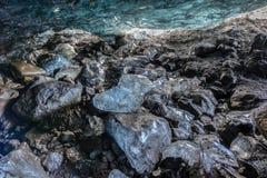 Ice Cave, Vatnajokull, South Iceland Stock Photos