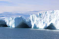 Ice caves. In greenlan-ilulissat fiord Stock Images