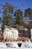 Ice Caves Of Lake Superior Royalty Free Stock Photos