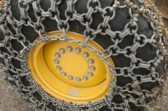 Ice chains Stock Images