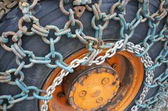 Ice chains Stock Photography