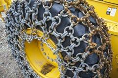Ice chains Stock Photo