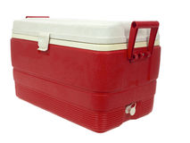 Ice chest Stock Photo