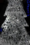 Ice Christmas Tree Stock Photo