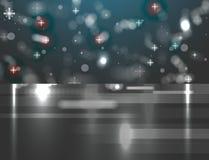 Ice christmas winter background Stock Image
