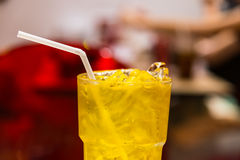 Ice chrysanthemum juice Chinese tradition soft drink Royalty Free Stock Photography