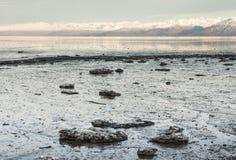 Frozen Alaskan Bay Stock Images