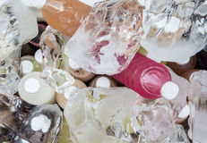 Ice Chunks and fruit drinks Royalty Free Stock Photos