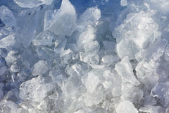 Ice Chunks in Nature Stock Photography