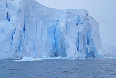 Ice Cliffs Stock Photography