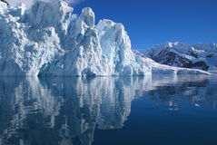 Ice Cliffs Royalty Free Stock Photography