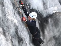 Ice Climber Royalty Free Stock Photos