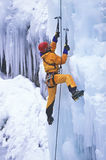 Ice climber. Stock Photo