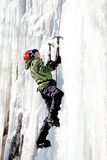 Ice climber. Catskill Mountains New York