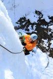 Ice climbing. Stock Photography