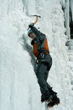 Ice climbing the North Caucasus. Stock Images