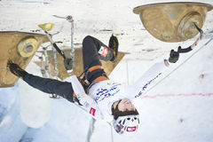Ice Climbing World Championship 2011 Stock Photography