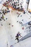 Ice Climbing World Championship 2011 Stock Photo