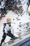 Ice Climbing World Championship 2011 Royalty Free Stock Image