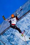 Ice Climbing World Championship Busteni 2008 Stock Image
