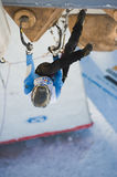 Ice Climbing World Cup Championship Busteni 2010 Royalty Free Stock Images