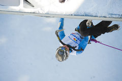 Ice Climbing World Cup Championship Busteni 2010 Stock Photography